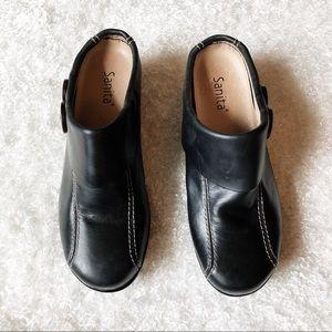 Sanita Black Clog Size 39